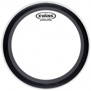 Evans 16 inch Emad Clear Bass Drum Batter Head