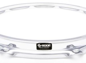 "S-Hoop 8"" 5 Hole / Lug Replacement Tom Drum Hoop"