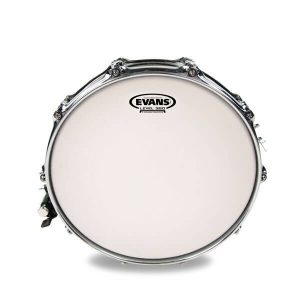 Evans 14 Power Centre Reverse Dot Coated Snare Drum Head