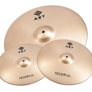 "Istanbul Agop ART Cymbal Set 14"", Hi Hats, 16"" Crash, 20"" Ride"