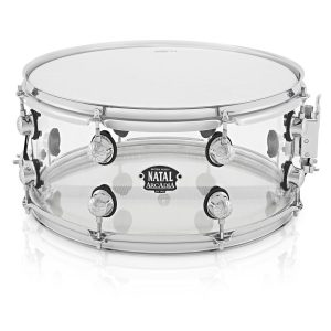 Natal Arcadia 14 x 6.5 Clear Acrylic Snare Drum