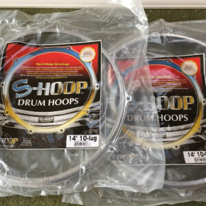 "S-Hoops 14"" Top & Bottom 10 Hole/Lugs, Snare Drum Hoops"