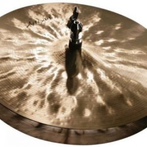 "Sabian 15"" Artisan Hi Hat Cymbals Natural Finish"